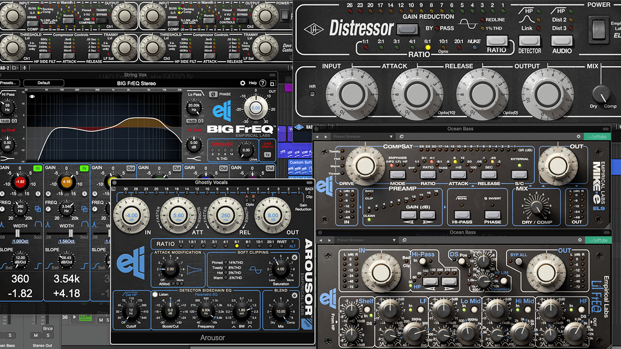 Empirical Labs Plugins – The Soul of our Hardware in the Box