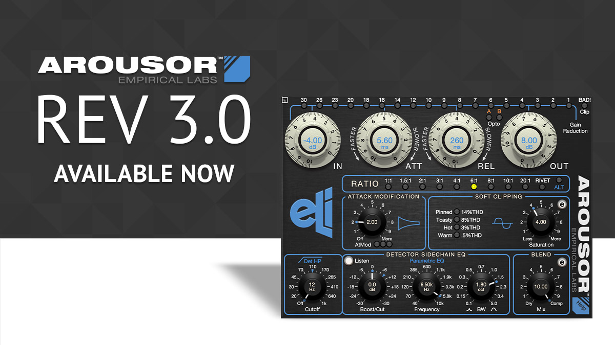 What's New in Arousor Rev 3