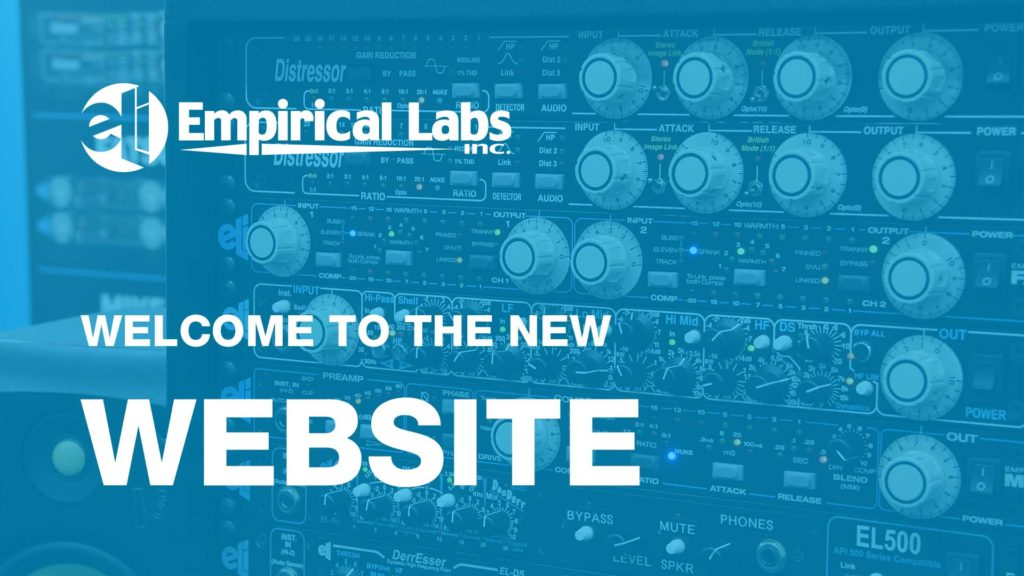 Welcome to the new Empirical Labs website